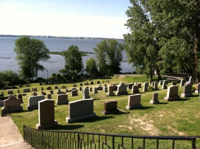 One of the most beautiful cemeteries I've ever seen.  It's in L'Île-Perrot, Quebec.
