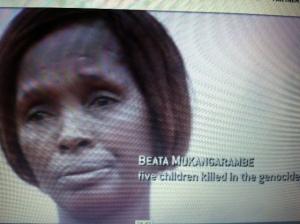 Beata Mukangarambe_five children killed in genocide