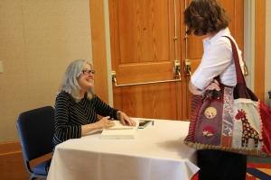 Meeting Elizabeth.  May 10, 2013.